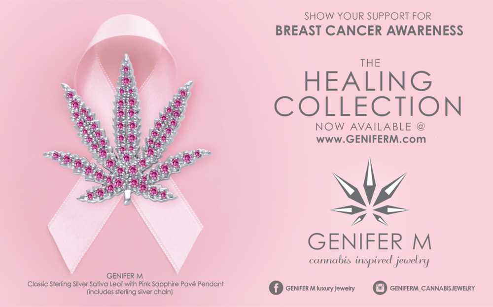 Proceeds from our Healing Collection will go to Breast Cancer Research