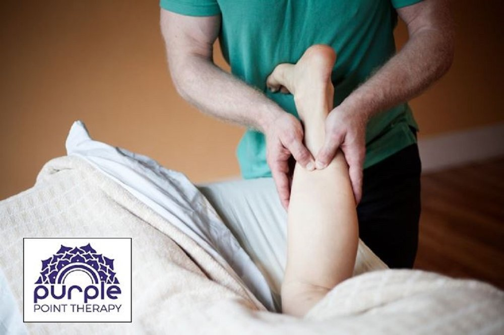 Neuromuscular Massage for the Gastrocnemius (Superficial Calf) Muscle, helps relieve pain in the low leg, ankle, and foot.