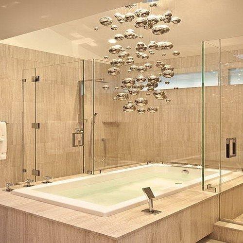 Small Bathroom Lighting — Arrowhead Electric