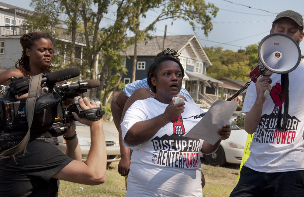 Homes for All Nashville - Tenants are standing up against displacement