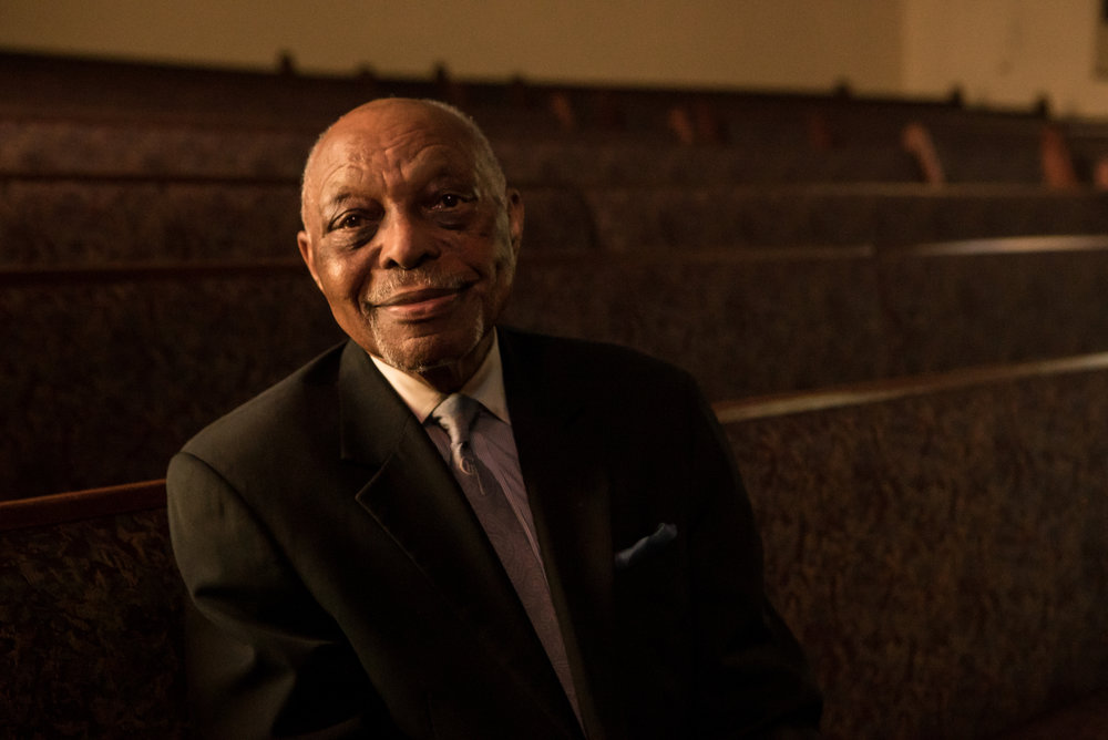 "Rev. Cecil ""Chip Murray"" at First AME Church"