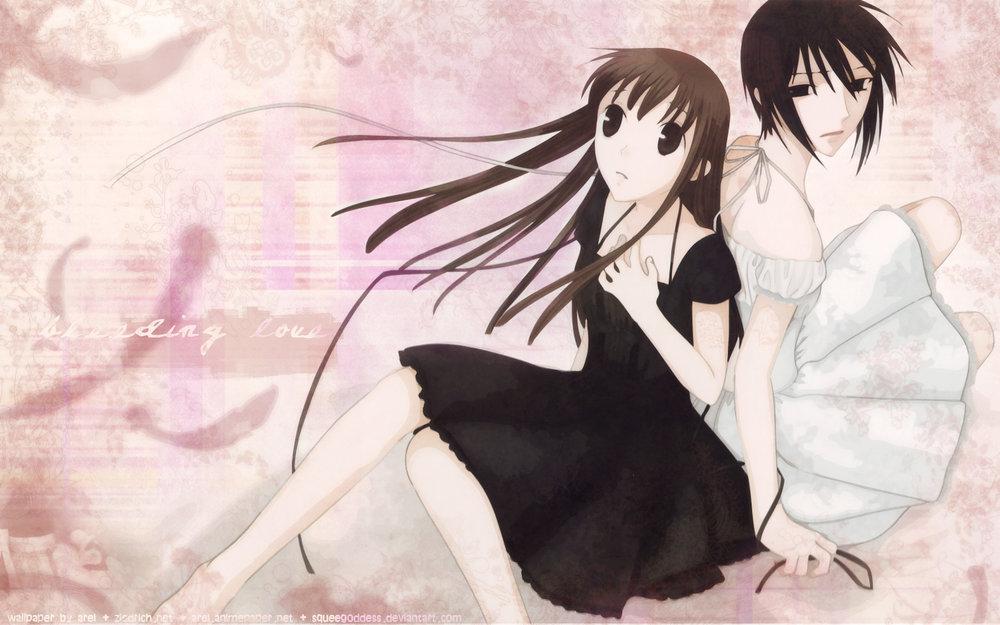 Left: Tohru, RIGHT: Akito