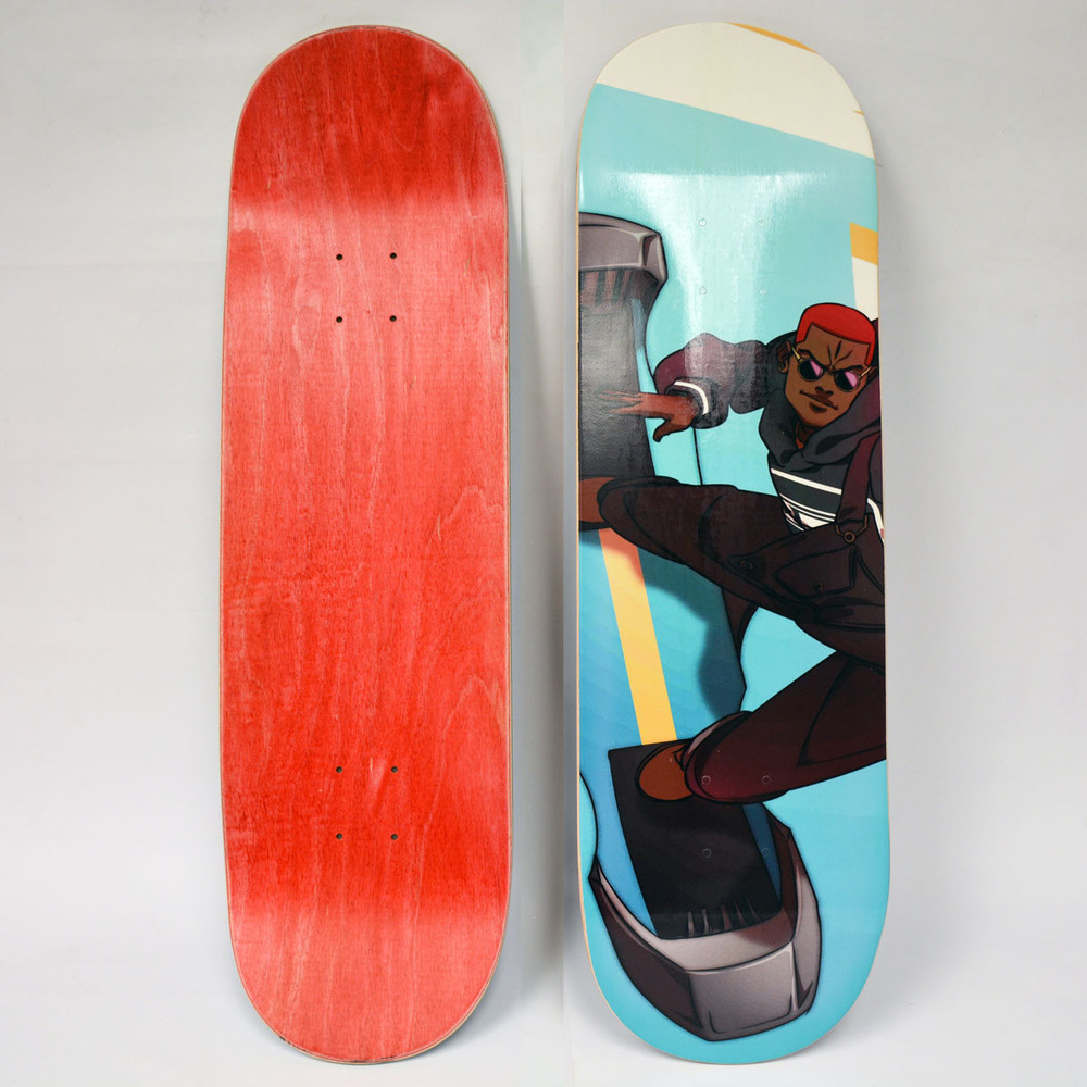 Gale Runners Skate Deck