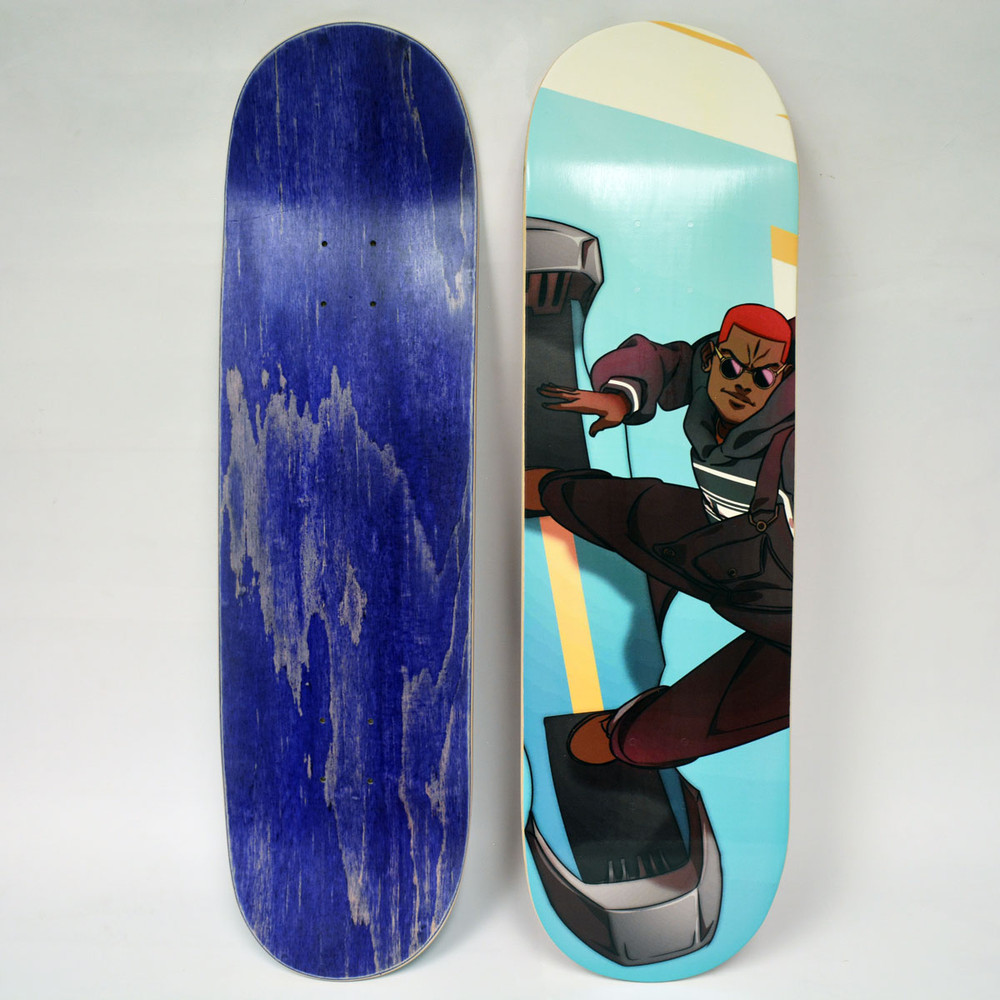 Gale  Runners Skate Deck (Blue)