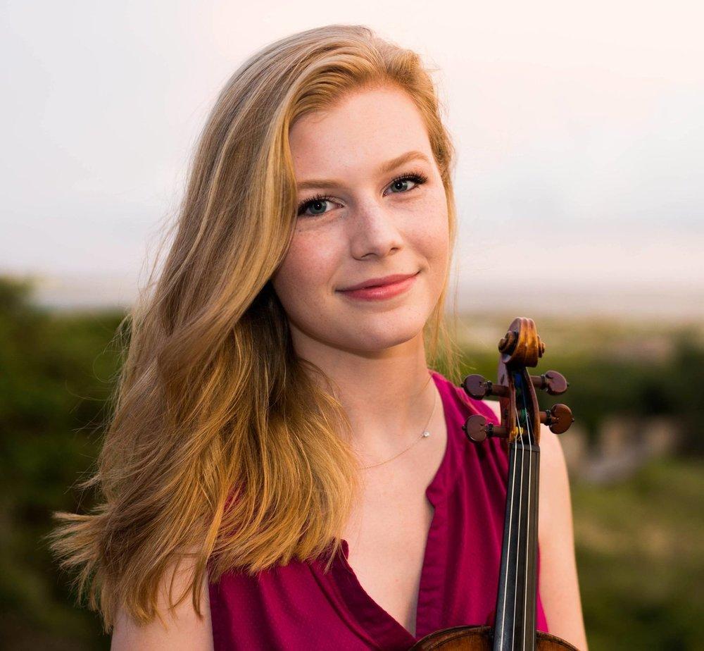 Kate Arndt, violin*
