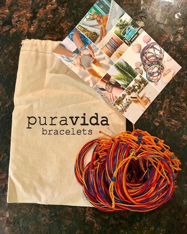 #ECStrong @puravidabracelets are officially here! $4 a piece and all proceeds go towards the Ellicott City Partnership. DM me if you would like one 😊 #ecstrong #shoplocal #shopsmall #ranarayapparel #shopranaray
