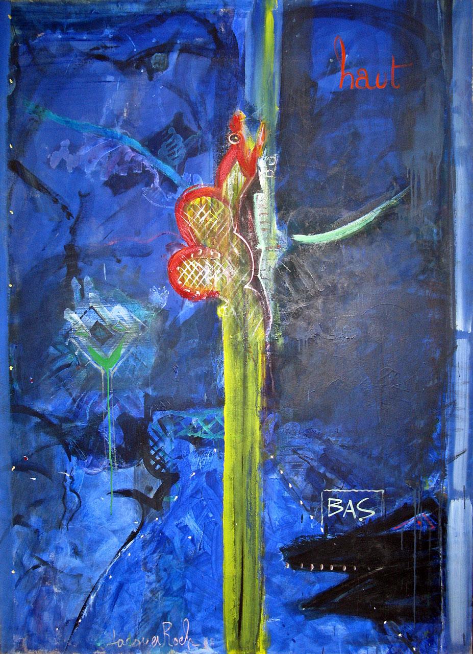 1988 The Bliss, acrylic on canvas, 56 x 78