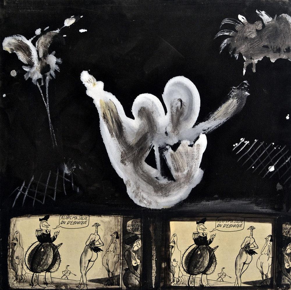 1989 acrylic on canvas, 30 x 30