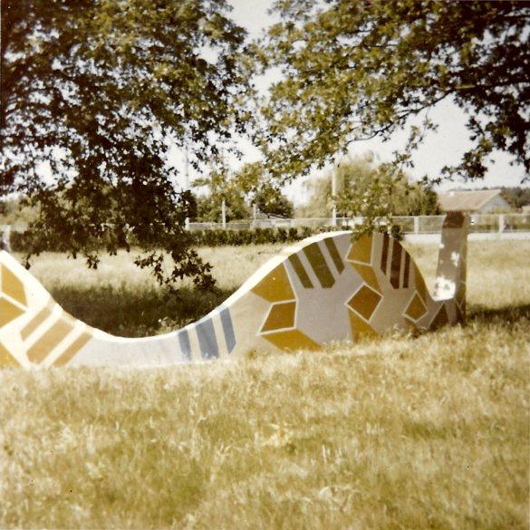 Mosaic, College Aulnay Sous Bois, Paris, France, 1966