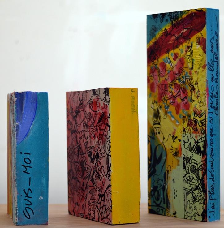 acrylic on wood, series, 2014