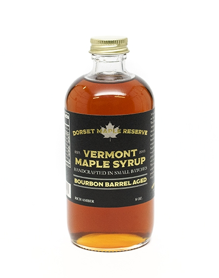 5a32b149a16 Bourbon Barrel Aged Maple Syrup — Dorset Maple Reserve