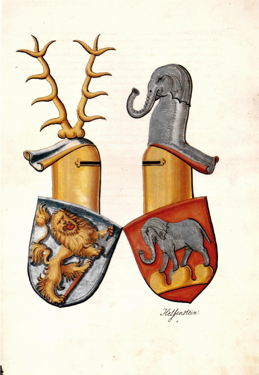 Froben Christoph von Zimmern: Zimmerische Chronik (1. Band der Reinschrift), Meßkirch 1566, Papier, 407 Bl., 39 x 28 cm    via  upload.wikimedia.org