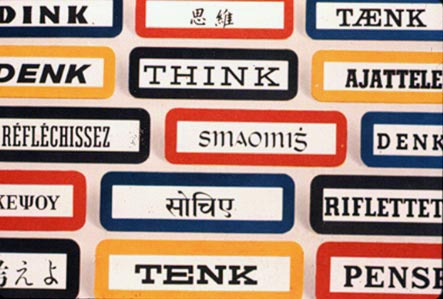 IBM Archives: Think signs