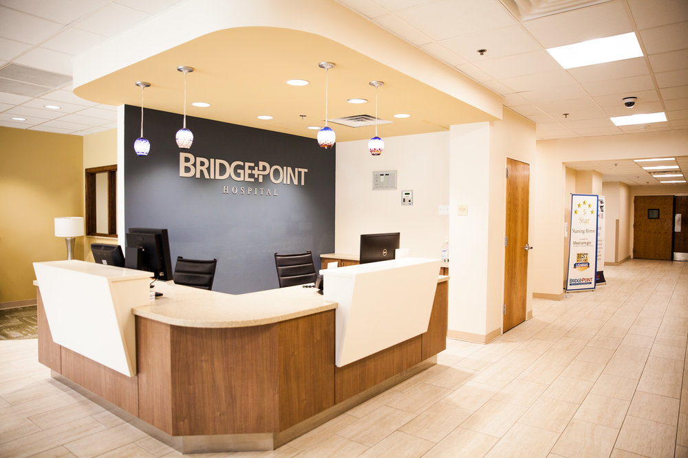 Bridgepoint Lobby — National Harbor