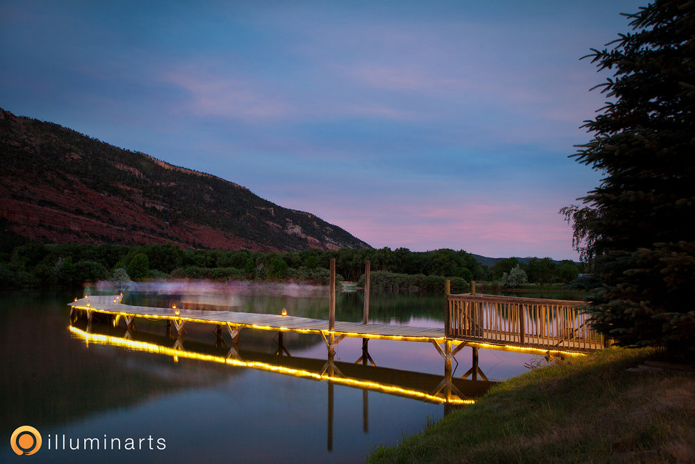 Enjoy the view day, dusk, or the starry night sky of Durango.