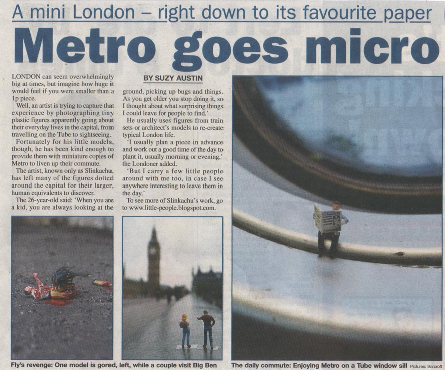 The Metro  5th October 2006