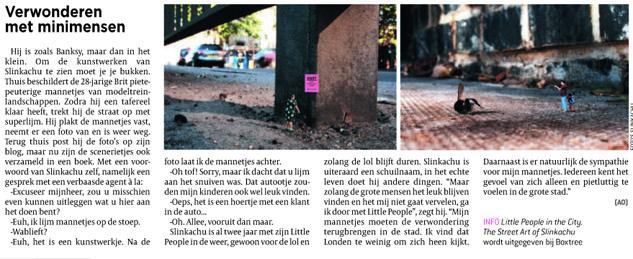 De Morgen  August 2008