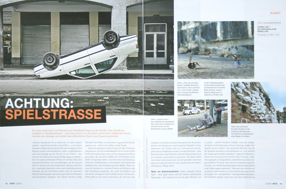 Arte Magazine March 2010