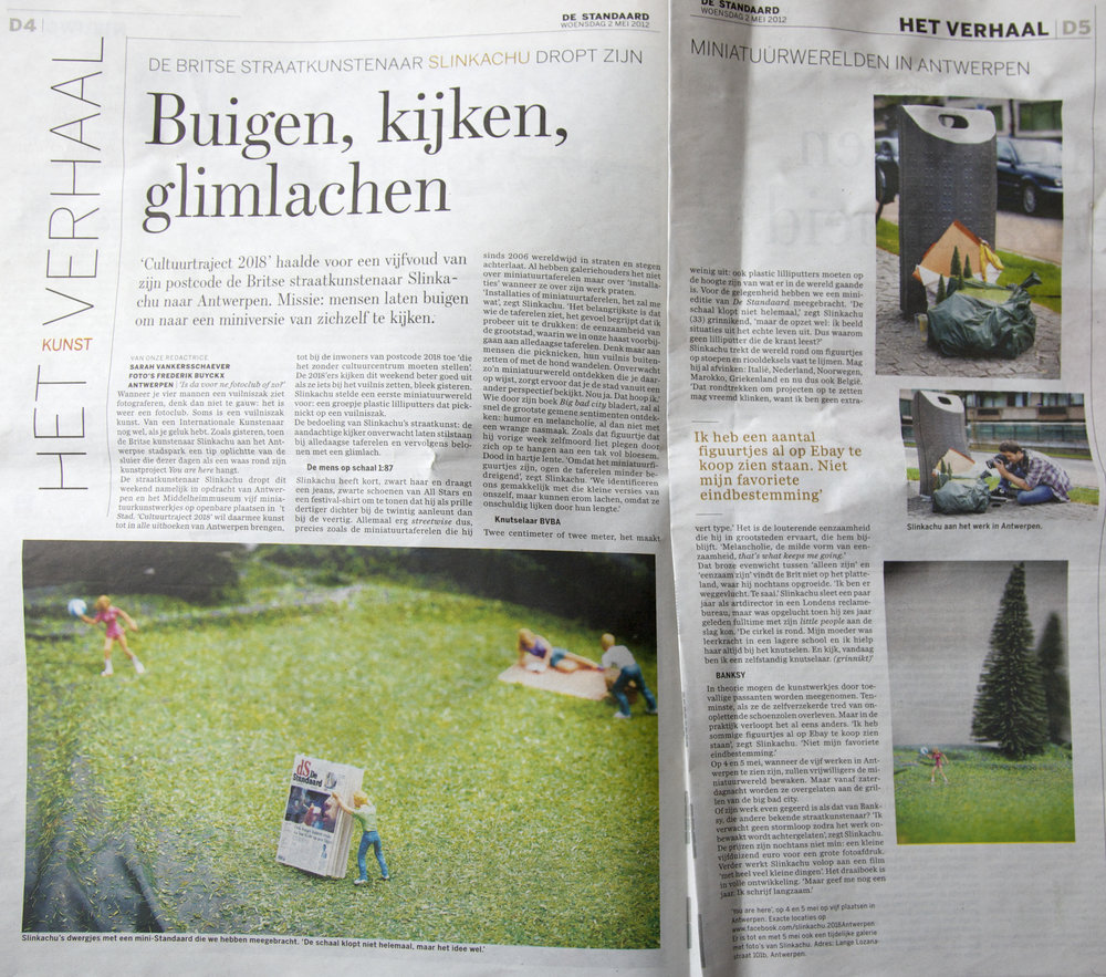 De Standaard   2nd May 2011