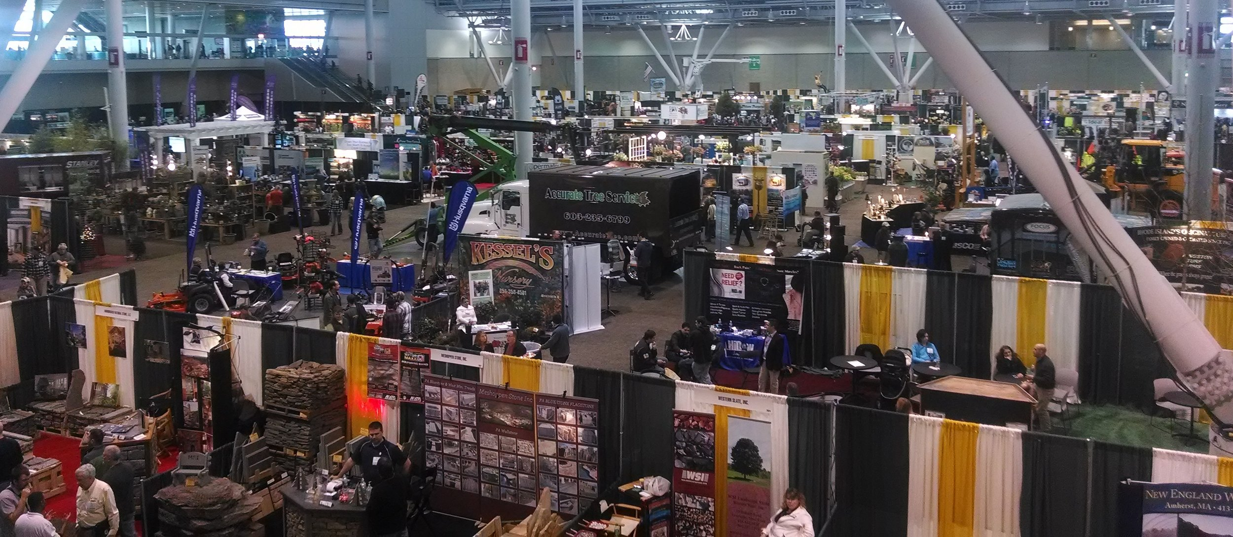 New England Grows attracts over 13,000 green industry professionals and nearly 1400 vendors showcasing cutting-edge research, products and services.