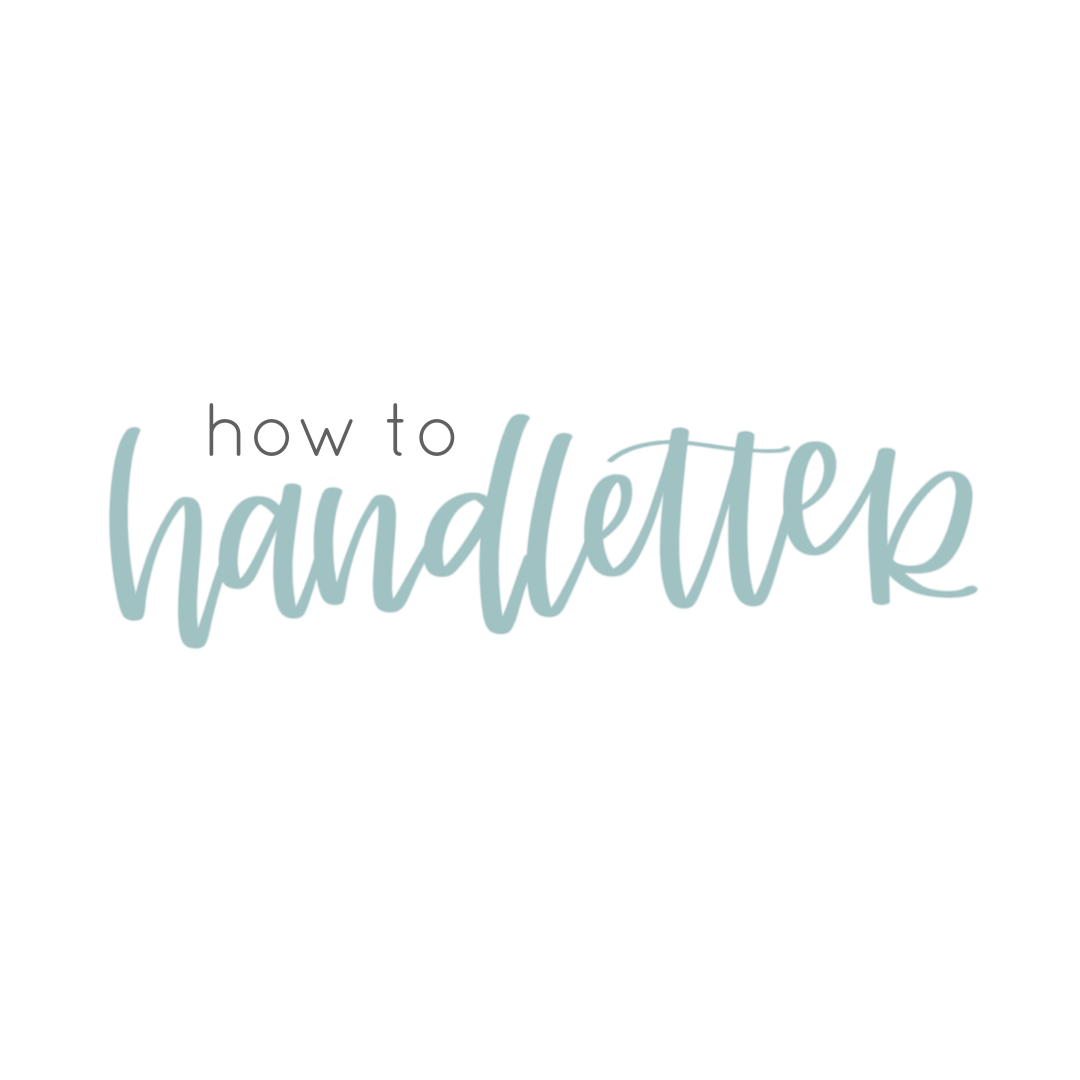How to Handletter