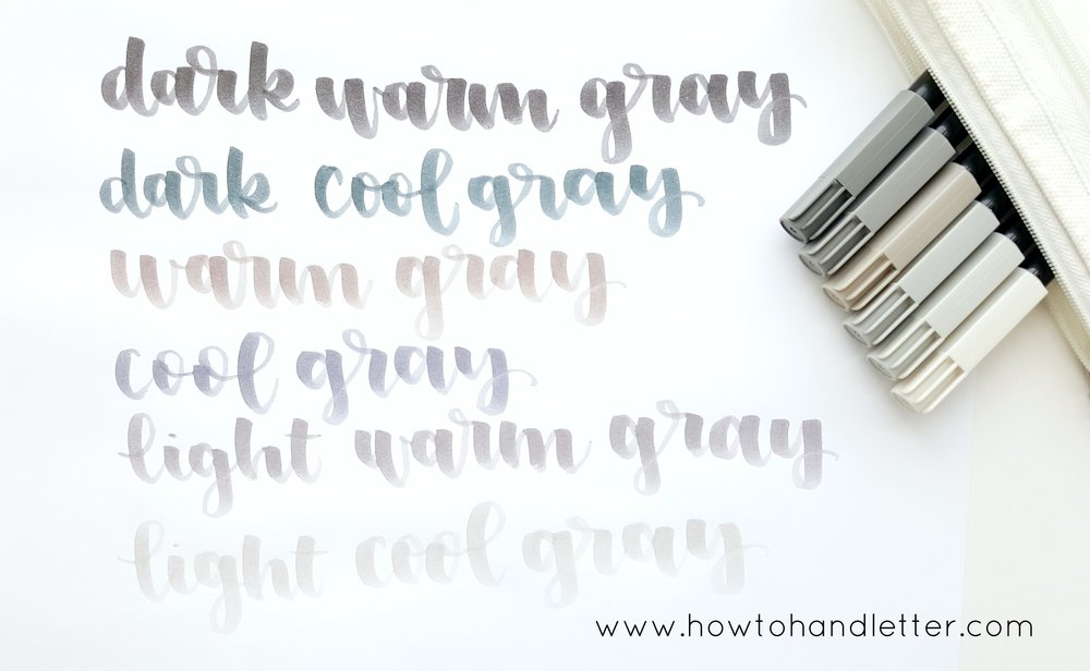 How to Handletter Koi Brush Pens Handlettering