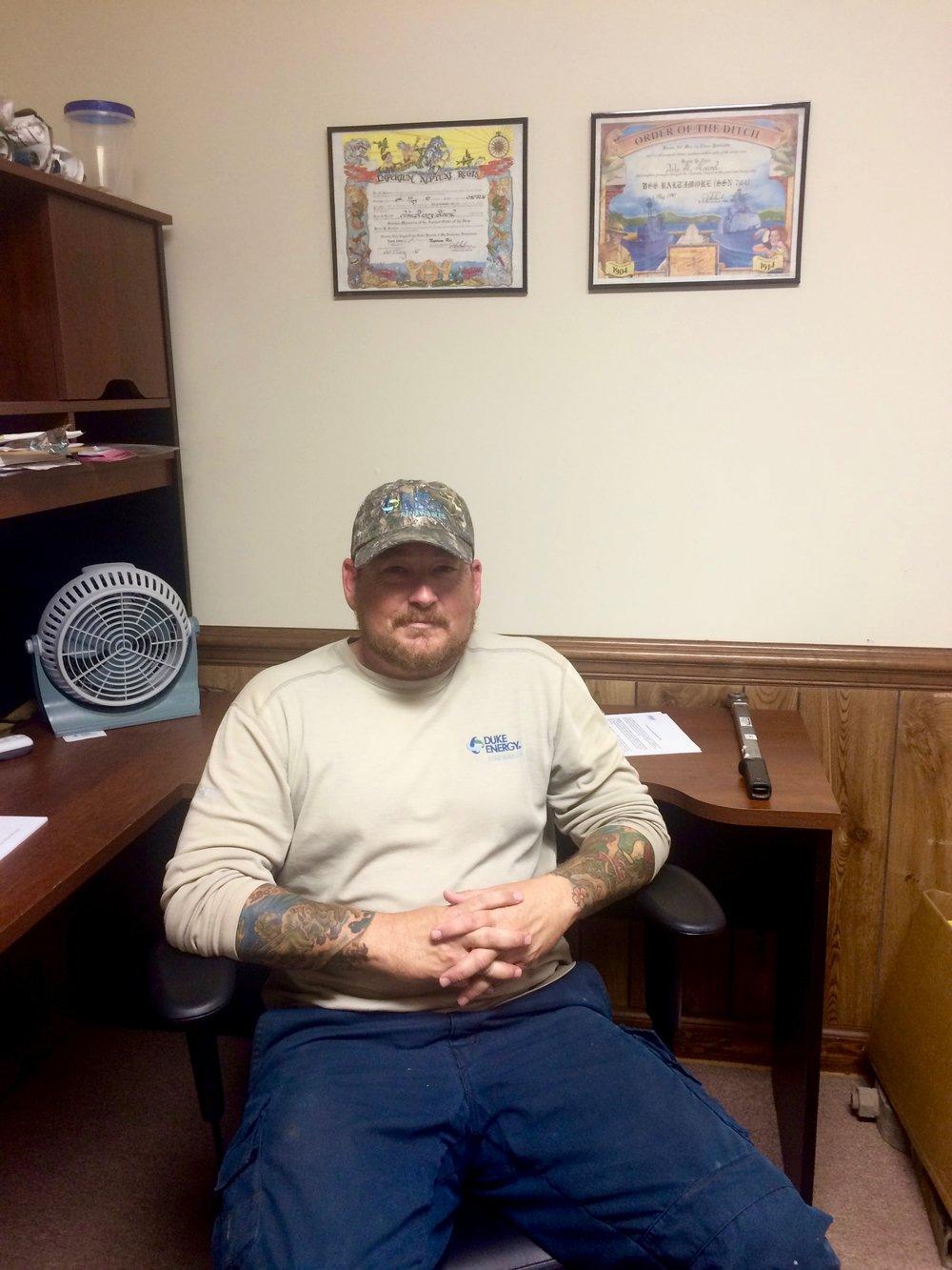 John  Solar technician  Tarboro, NC  Navy