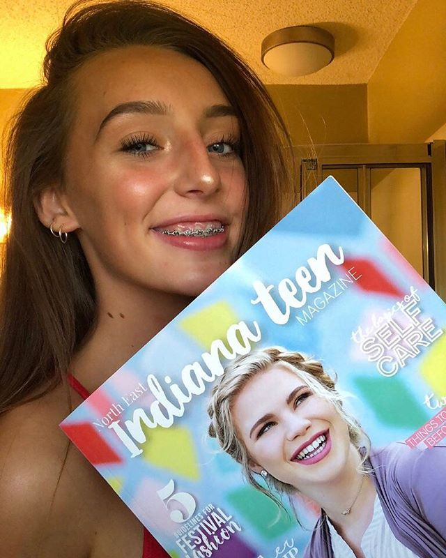 """I love how vibrant the colors are in the magazine and how teens from all over indiana are included in this magazine!!"" - @_emma_e_p_ ✨We want to know what you think! DM us or tag us in a photo of you with issue 02 and you may be published in our next issue! 🤗"