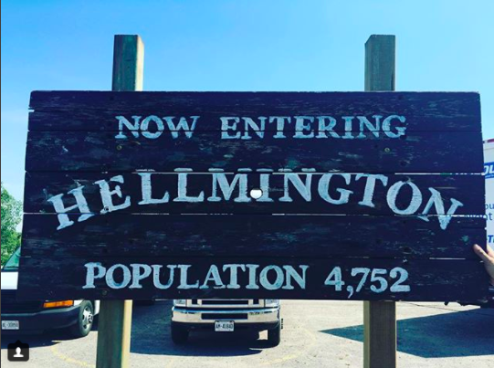 HELLMINGTON POST PRODUCTION UPDATE -