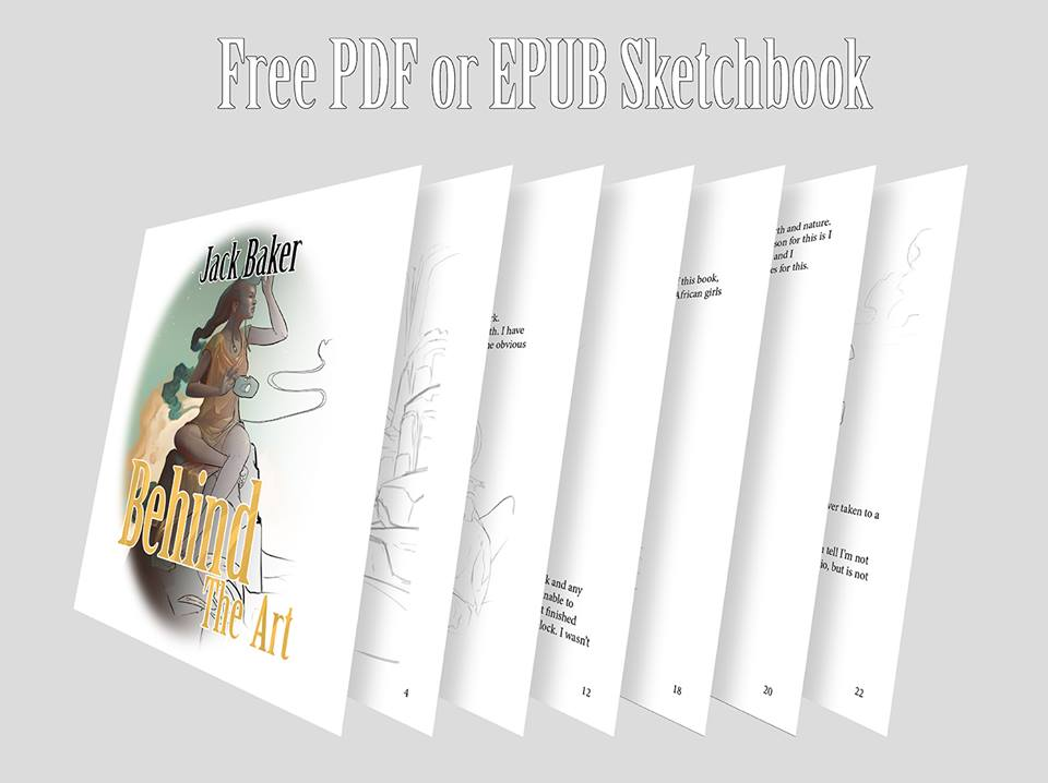 - I often talk about what I am doing with my business in my newsletter, and by joining the mailing list you gain access to new art, announcements and discounts. Join today and get your free copy of my pdf sketchbook, Behind The Art