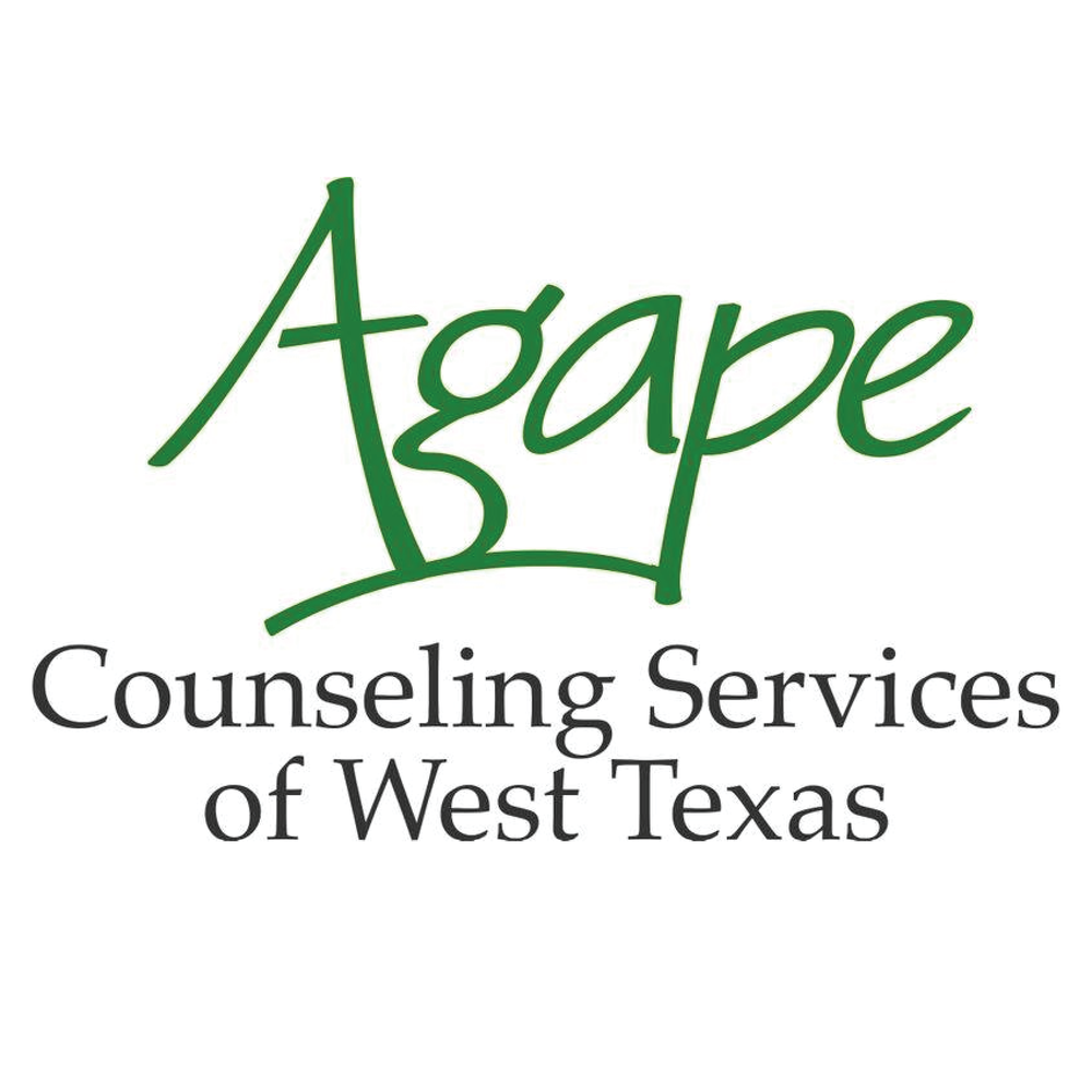 Agape - The mission of Agape is facilitating mental and emotional health through professional counseling from a Christian perspective, For more information on Agape please visit their site. http://agapewesttexas.org