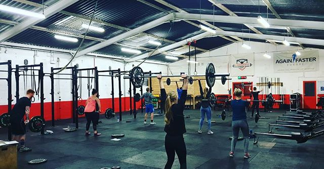 Morning lifting is where it's at 💪 #cfsunderland