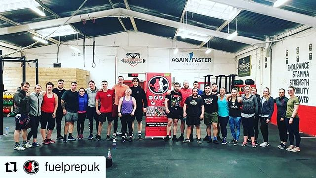#Repost @fuelprepuk • • • • • • Proud to announce our partnership with @crossfit_sunderland 🏋️♂️🏃♀️Home to some of the best CrossFit athletes in the UK & it's not hard to see why with it's fully equipped gym, knowledgable coaches & friendly community of members all thriving to improve their fitness & help each other 🙌 Huge range of classes that would suit any level, from complete novices to seasoned crossfitters 🏋️♂️ Based at Tavistock Place in the centre of Sunderland, can't recommend enough if your looking to try a different approach to fulfilling your fitness goals 💪 #crossfit #crossfitters #fuelprep #fuelyourambition #nutrition #mealprep #northeast #sunderland