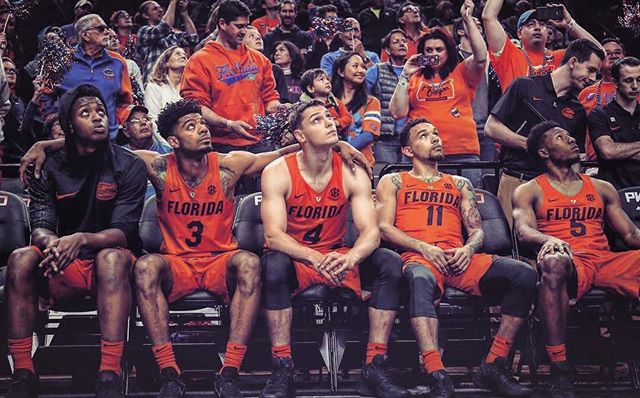 #BeatFSU 💙🐊🏀🔥 __________ 📸: @chiozza11 • • #bestofgainesville #rainesville #florida #collegebasketball #beateveryone #universityofflorida #uf #gators #win #sec #secbasketball #ncaabasketball #gogators #gatornation #floridagators #gatorbasketball #wechomp #theswamp #uf17 #uf18 #gatorhoops #itsgreatuf #gainesville #gainesvillefl #whyilovegnv @gatorsmbk @uflorida @ncaasports @keith_stone25 @chiozza11 @mrkay4three @hudszn @makrause12 @monkfava22 @russiangusta