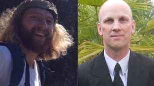 pictured above are the victims,  Taliesin Myrddin Namkai-Mech  and  Ricky John Best.  Photo credit: CNN