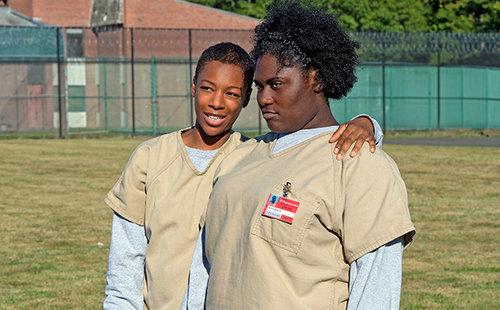 Tasty and Poussey , photo via EW.com