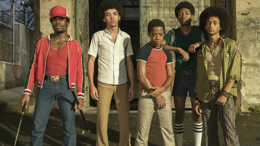 some of the cast from  The Get Down, photo via Netflix