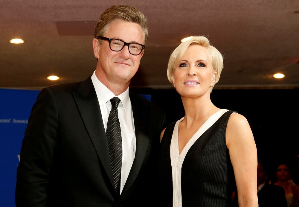 Scarborough and Brzezinski, photo via  Reuters