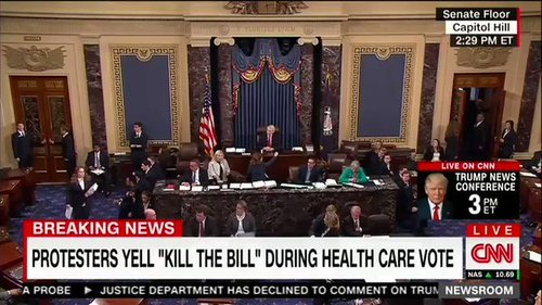 Kill The Bill, Photo via  CNN