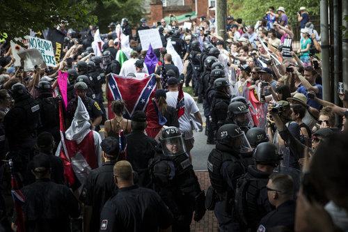 last month's KKK rally in Charlottesville