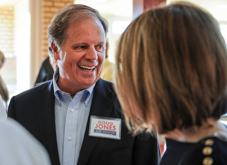 Doug Jones, photo via  Doug Jones for Senate