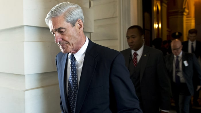 Robert Mueller, photo via  Getty Images