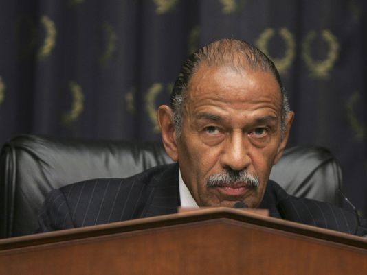 John Conyers, photo via  AP