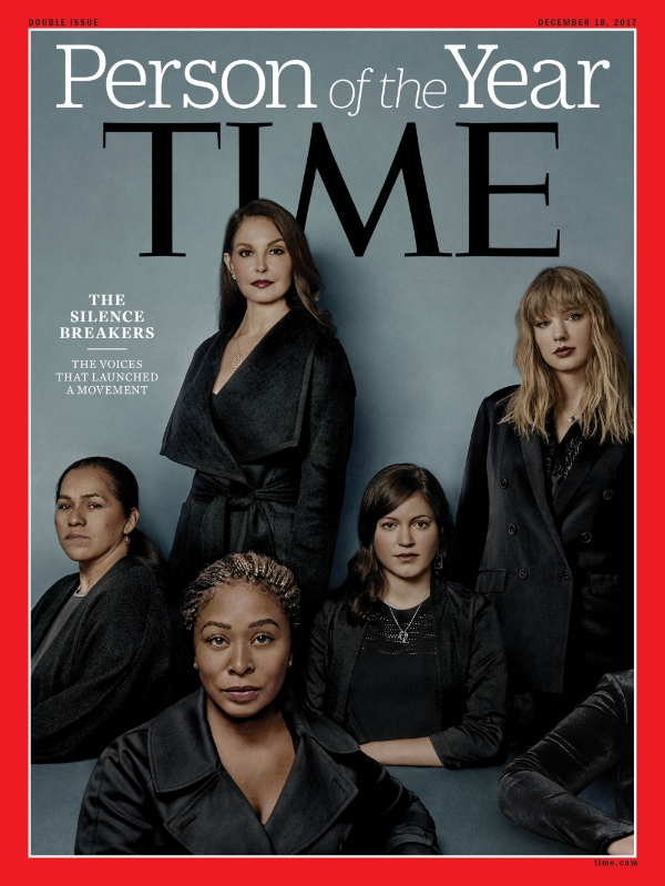 TIME Magazine Person of the Year 2017, photo via  TIME Magazine