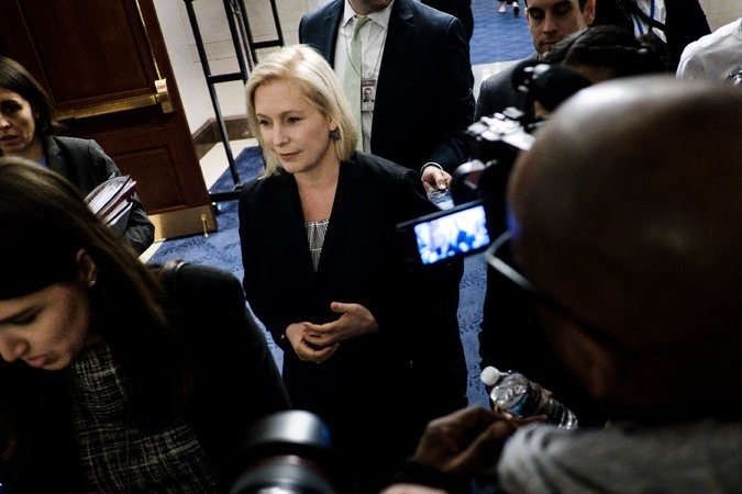 Senator Gillibrand, photo via  The New York Times