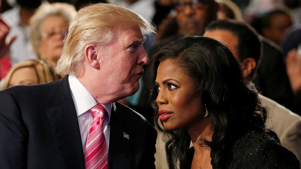 Omarosa and Trump, photo via  Reuters