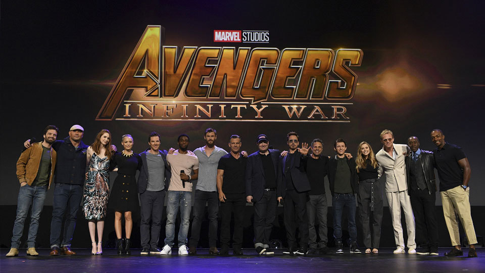 The Cast of Avengers: Infinity War