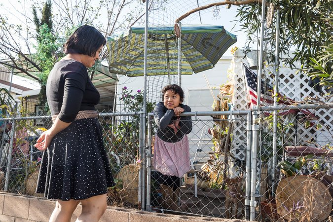 a family from El Salvador now being forced to leave, photo via  New York Times
