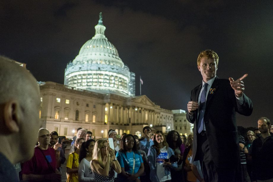 Rep. Joe Kennedy, photo via  Getty Images