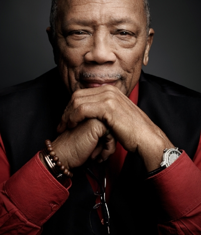 Quincy Jones for  Vulture , photo via  Art Streiber